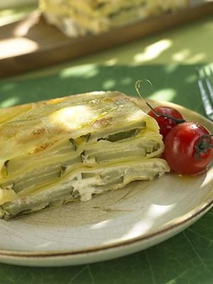 Lasagnes végétariennes au fromage de mascarpone