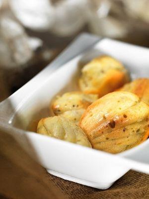 Mini madeleine gorgonzola et origan