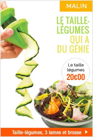 Le taille-légumes qui a du génie