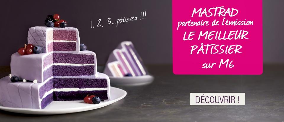 Selection partenariats mastrad x le meilleur pâtissier
