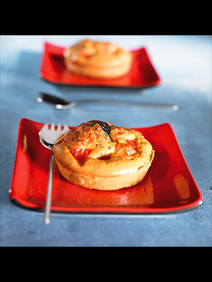 Mini muffins croustillant façon pizza